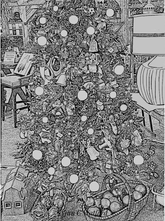 Christmas Tree Adult Coloring Pages Adult Coloring.