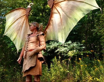 Dragon Slayer with Functioning Wings