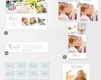 Social Media Marketing Set - Photo Marketing Set - Photography Marketing Suite - Facebook - Pinterest - Instagram - INSTANT DOWNLOAD!
