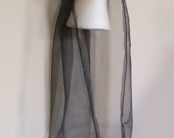 black and silver medieval headdress goth pagan larp custom made headpiece Renaissance black and silver detailing
