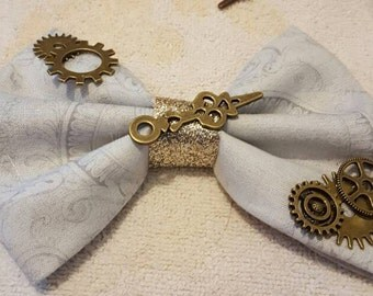 Steampunk bows. Each bow is different.