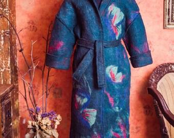 Handfelted coat