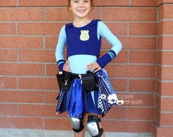 Judy Hopps Costume - Size 2-7 - Disney's Judy Hopps - Zootopia - Judy Hopps Tutu - Judy Hopps Halloween Costume