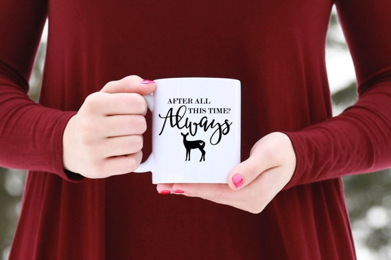 After All This Time ALWAYS | HARRY POTTER | Message Mugs | 11 oz.