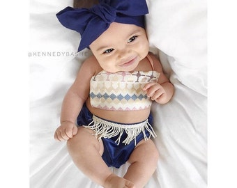 NAVY Gorgeous Wrap- headwrap; fabric head wrap; navy head wrap; boho; newborn headband; baby headband; toddler headband