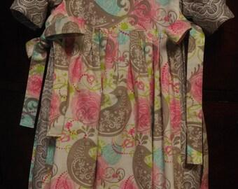 Yoke Dress with Pinafore