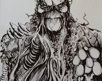 Swamp Thing A4 print