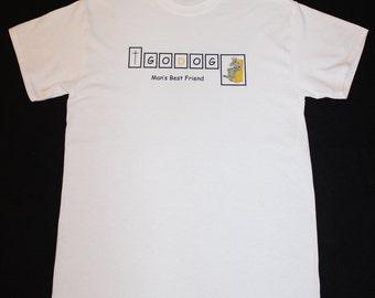 GODog T-Shirt White