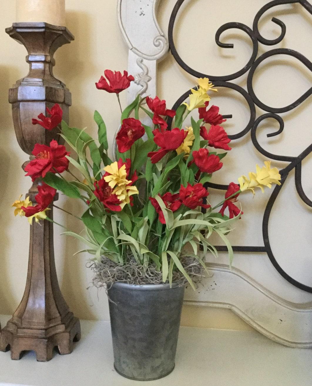 Mantel Arrangements: Flower Arrangements Mantel Decor 10 Year Anniversary