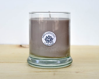 Campfire Candle || Hand Poured || Organic Soy Candle // 9 oz. Glass