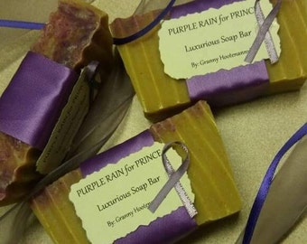 Purple Rain for Prince Luxurious Soap by Granny Hootenanny's Soap & Incense