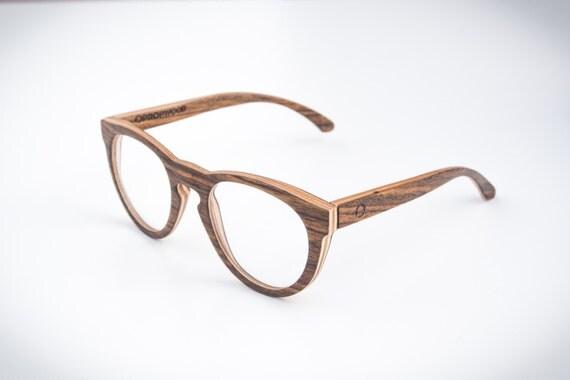 wooden reading glasses handmade wood eyewear rx by