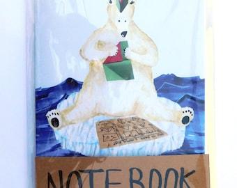 Polar Bear A5 Notebook