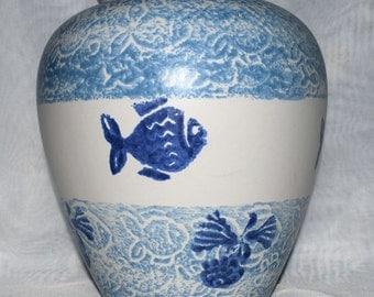 Scheurich West German Fishes Vase -  Pattern Number 504-20