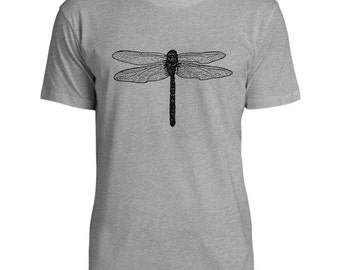 Mintage Dragonfly Mens Fine Jersey T-Shirt