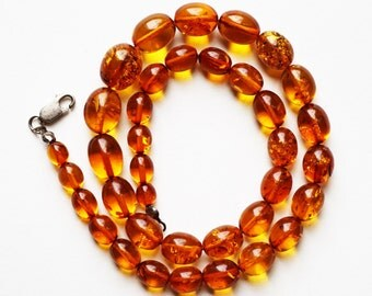 Natural Baltic Amber Necklace - 25 g