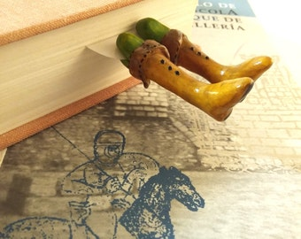 Knight bookmark legs with old boots Adventure bookmark for boys, funny boots of knight bookmarks, legs bookmark, Game of Thrones bookmark