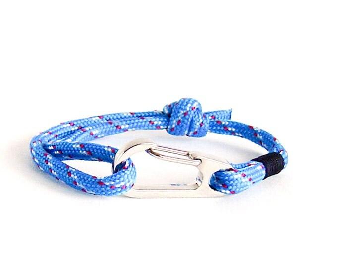 Mens Bracelet, Personalised Bracelet, Groomsmen Gift Ideas - Rope Bracelet