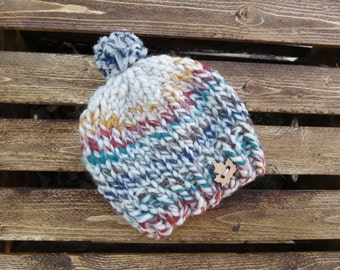 Cozy Baby Toque | Winter Baby Hat | Perfect Baby Shower Gift | Custom Colour