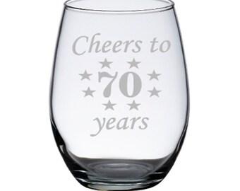 70th Birthday Etsy