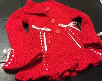 Red Child's Jacket