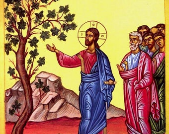 Parable of the Fig Tree Icon