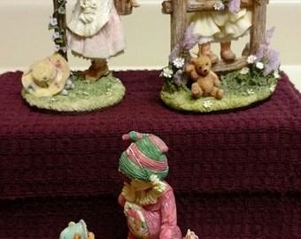 Laura's Attic Children Figurines By Karen Hahn