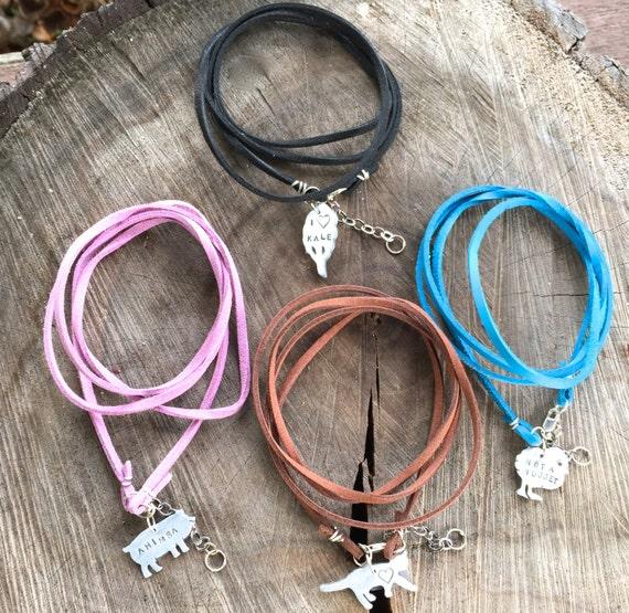 Vegan Suede Wrap Bracelets-Vegan Bracelet-Happy Vegan-Vegan-Gift-Birthday-Anniversary-Wedding-Personalized-Eco Friendly-Ethical-Eco Friendly