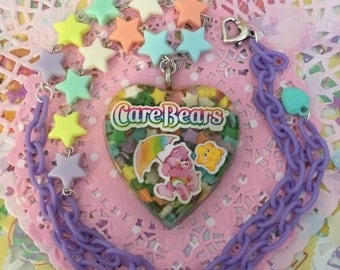 Care Bears Kawaii Necklace