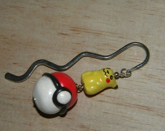 I CHOOSE YOU Nerdy Pikachu Book Mark Pokemon Go