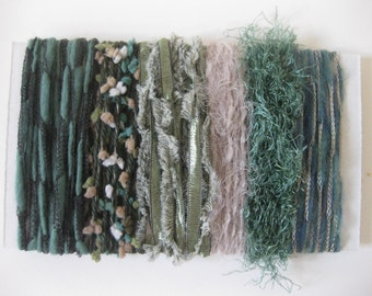 Beach Glass Art Fiber Bundle