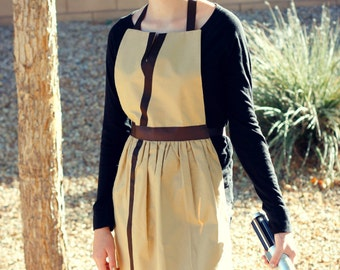 STAR WARS JEDI Rey Luke Skywalker Obi Wan Kenobi Disney inspired Costume Apron. Fits Teen/ Adult Women sizes 0-12 Disneyland Birthday Party