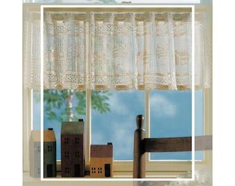 crochet cafe curtains