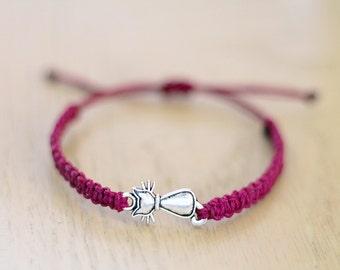 Cat Bracelet - Hemp Bracelet - Hemp Jewelry