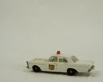 Vintage Ford Galaxie Police Car Matchbox Series no. 55/59 Made in England by Lesney