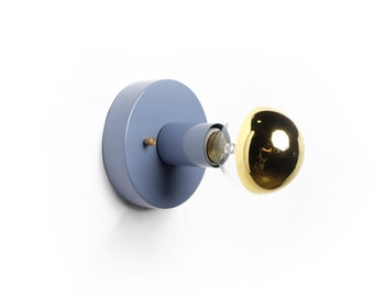 Alpha wall sconce- Multiple colors