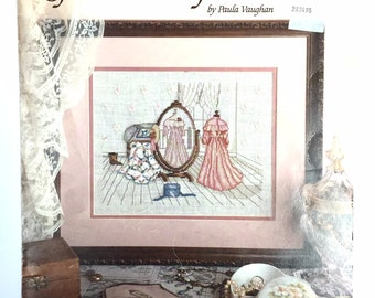 Paula Vaughan's 'Reflections of the Past' Cross Stitch Leaflet 471