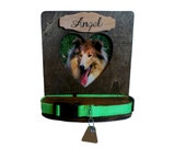 Pet Collar Display, Cat, Dog, Pet Frame For Collar, Memory Frame
