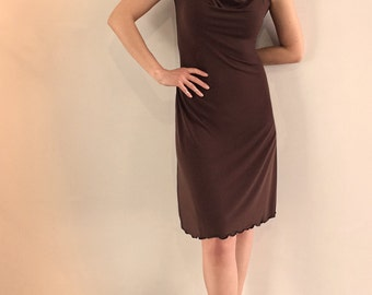 OONU Cowl Neck Dress