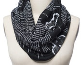The Raven by Poe Book Scarf