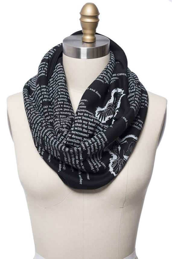 the by poe book scarf