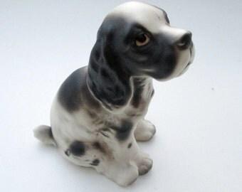 Vintage Ceramic Spaniel Dog