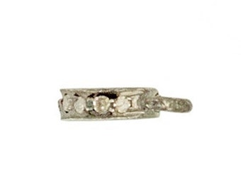 Diamond Jump Ring for Clasp - A Lovely Final Touch!!