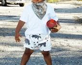 Toddler Shorts, Baby Shorts, Shorts for Kids,  Baby Shorts, Baby Pants, Polar Bear and Triangle Shorts