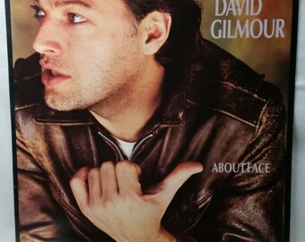 David Gilmour (from Pink Floyd) Record - About Face - 1984 Vinyl LP - Classic Rock Album