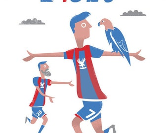 Crystal Palace FC card / Football card
