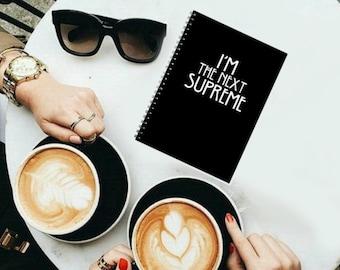 I'm the next supreme - spiral notebook - Pocket Journal Jotter