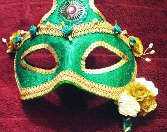 Custom made papier mache masks.
