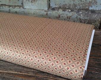 Fabric HALF YARD: Old Glory Gatherings - Petite Floral - Primitive Gatherings - Moda Fabrics