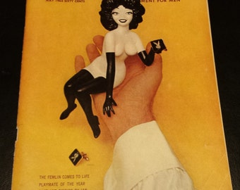 Vintage 1963 May Issue of Playboy Magazine